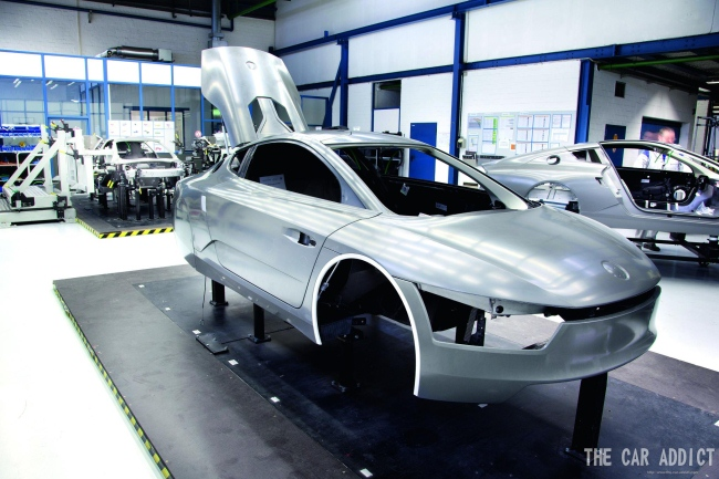ALL about the Production of the Volkswagen XL1