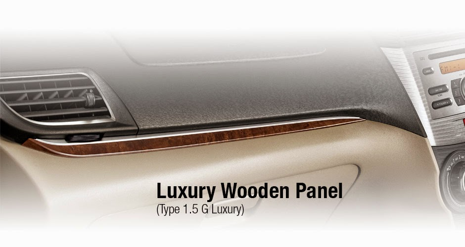 Wooden Panel Avanza Luxury