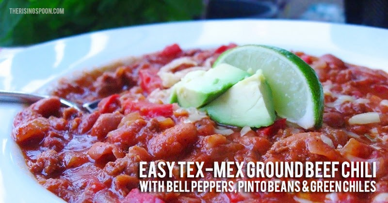 Easy Tex-Mex Grass Fed Beef Chili Recipe