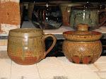 Mug and sugar jar