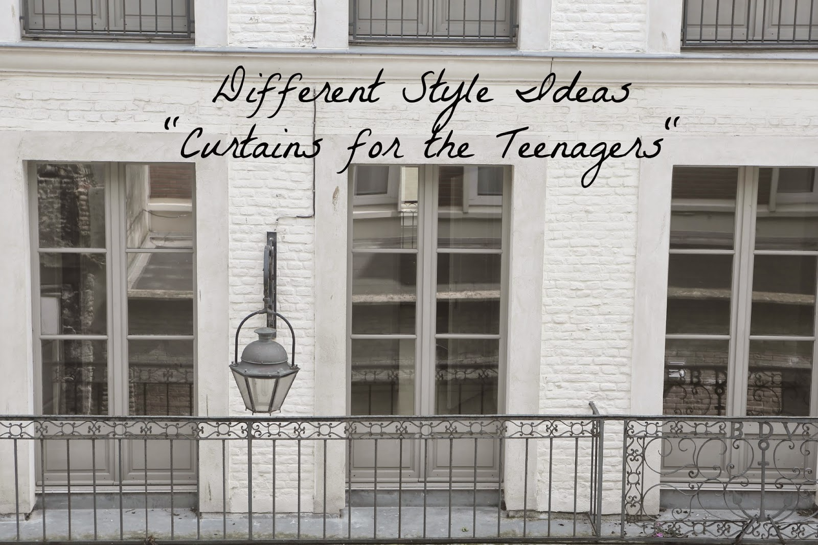 Different Style Ideas: Curtains for the Teenagers | Raellarina ...
