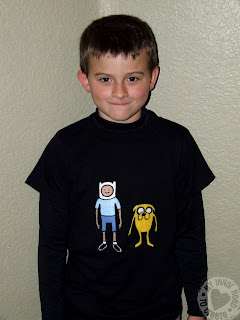 Adventure Time Applique T-shirt