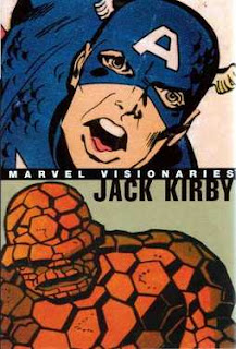 Review Marvel Visionaries Jack Kirby Stan Lee Jack Kirby Captain America Thing Marvel Cover hardcover hc comic book