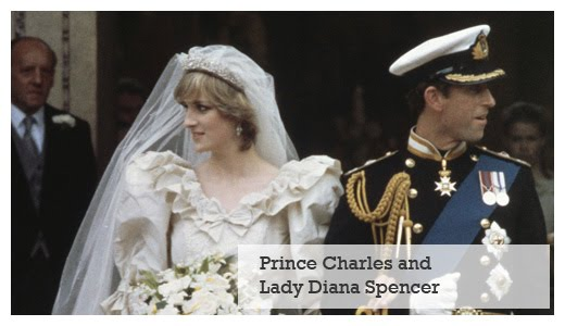 royal wedding - charles and diana