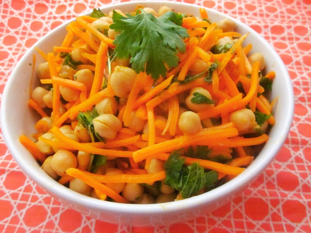 ... the Table: Loving Food in RI & Beyond : Moroccan Carrot-Chickpea Salad