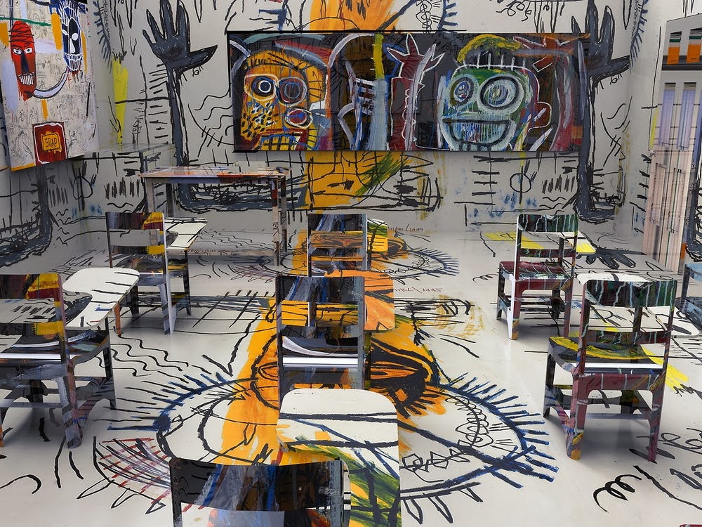 13-Basquiat-Classroom-BNPJ-Brand-New-Paint-Job-Jon Rafman-www-designstack-co