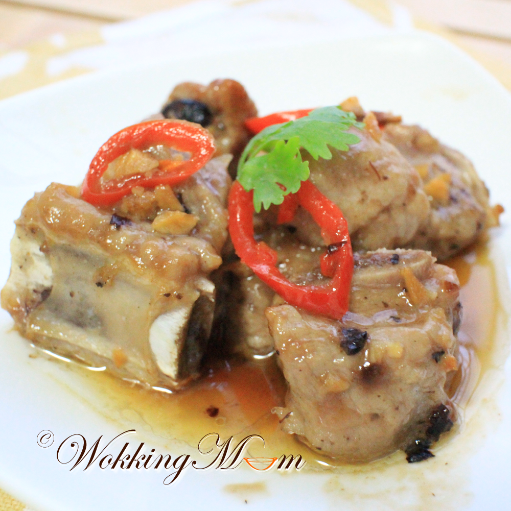 Let's get Wokking!: Steamed Spare Ribs with Fermented Black Bean ...