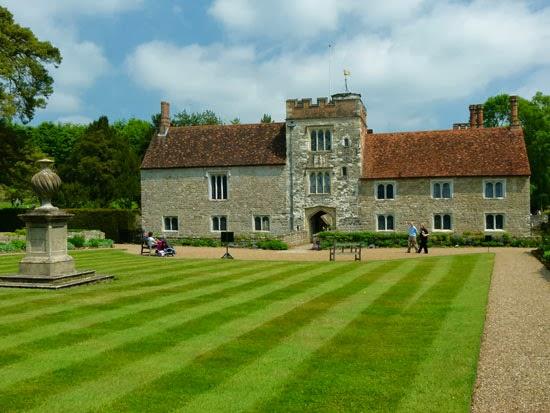 Gardens, Kent, Igtham Mote, restoration project