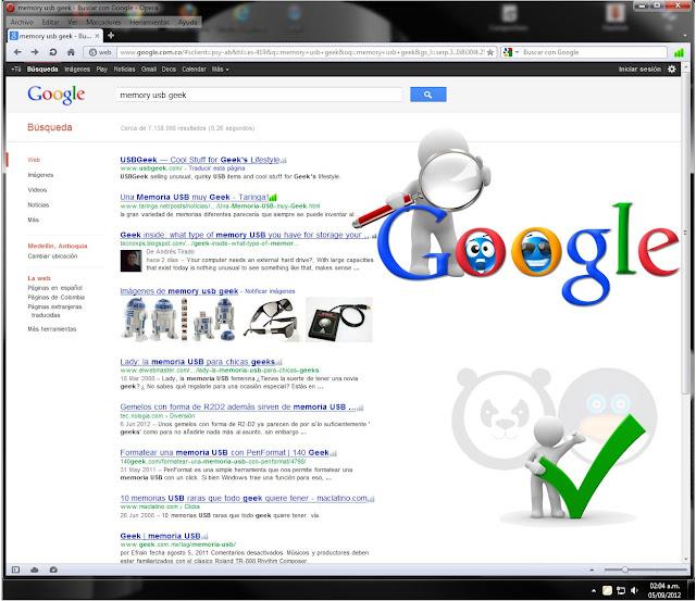 Reconocer una sancion y/o penalizacion algoritmica de Google por Penguin o Panda, SEO