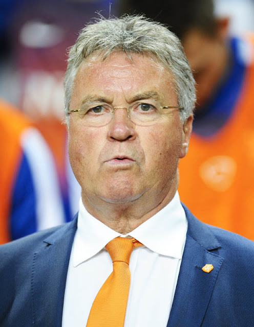 SECOND SPELL: Guus Hiddink looks set to take over at Chelsea until the end of the season