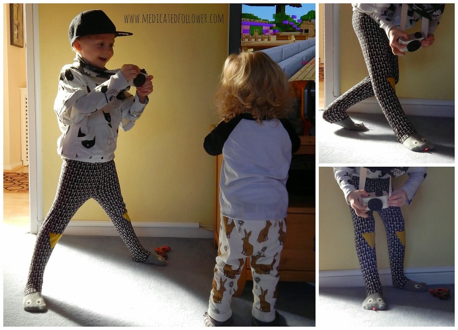 Mini Dressing Snake Socks from Greenberry Kids