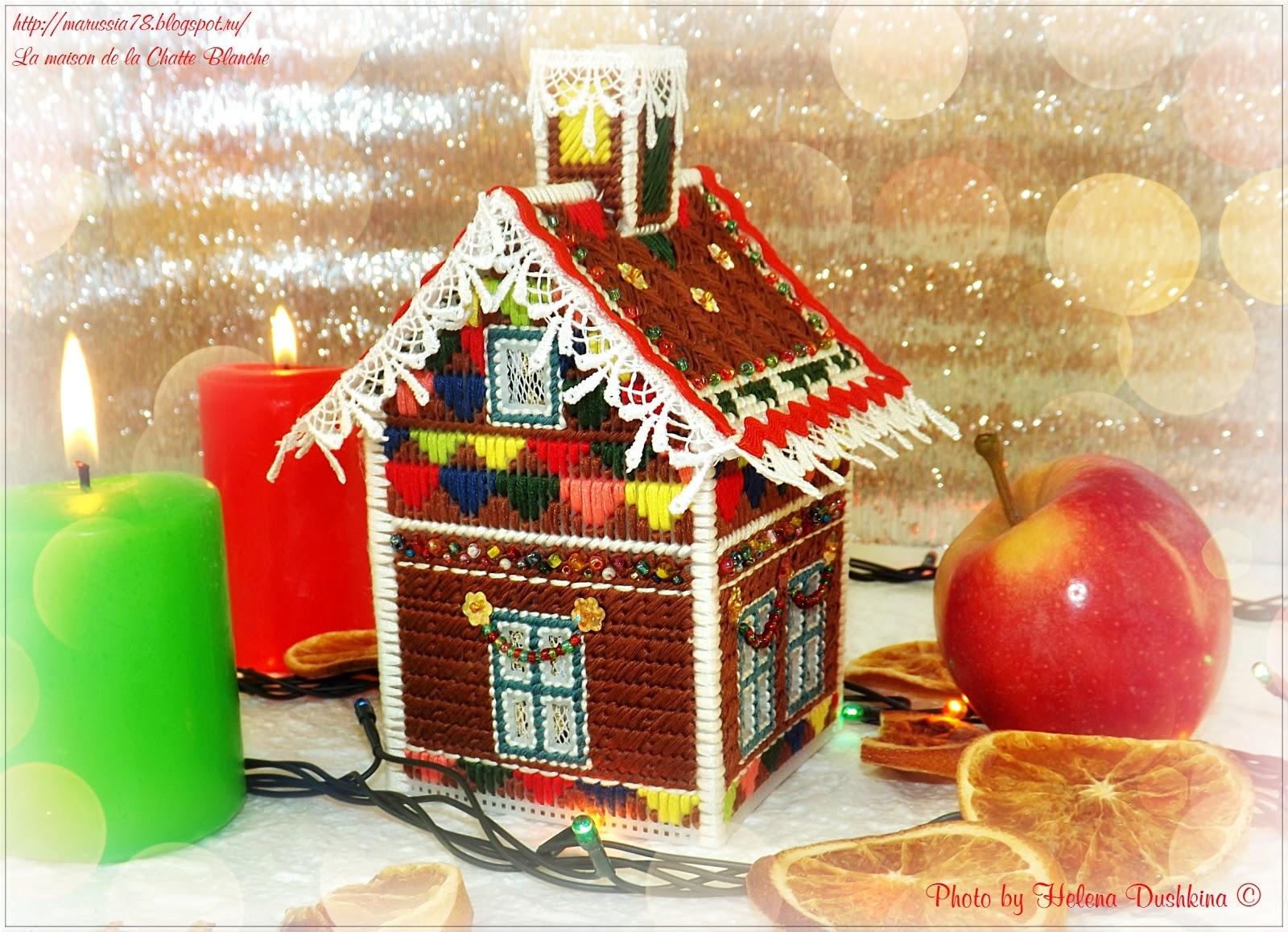 рождественские домики схема