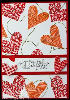 I Heart Hearts Sale-a-Bration Card