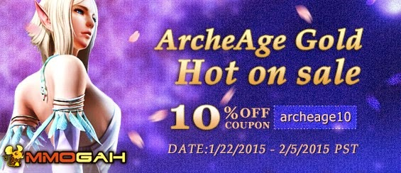 MmoGah 10% discount archeage gold