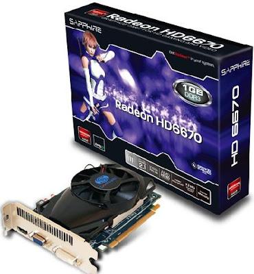 vga murah buat game 1 jutaan - Sapphire HD 6670 ddr3 1GB