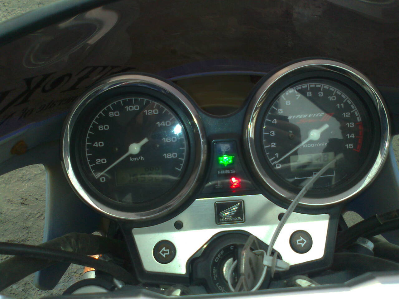 расход Хонда СБ 400 #10