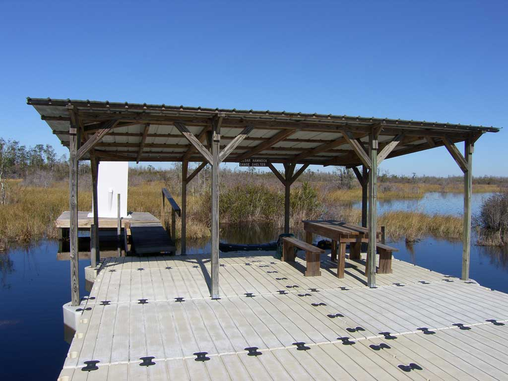7  the cedar hammock platform was constructed using ez dock modular pieces  we sure could use a few of these in the lower mobile tensaw delta  kayaking the mobile tensaw river delta  02 18 2010   okefenokee      rh   mobilepaddler blogspot