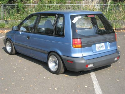 Slammed '92 Plymouth Colt Vista makes me want to spend ...