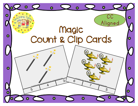 http://www.teacherspayteachers.com/Product/Magic-Count-Clip-Cards-Common-Core-Aligned-909214