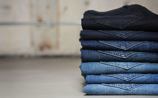 Just In: Stacks of Denim