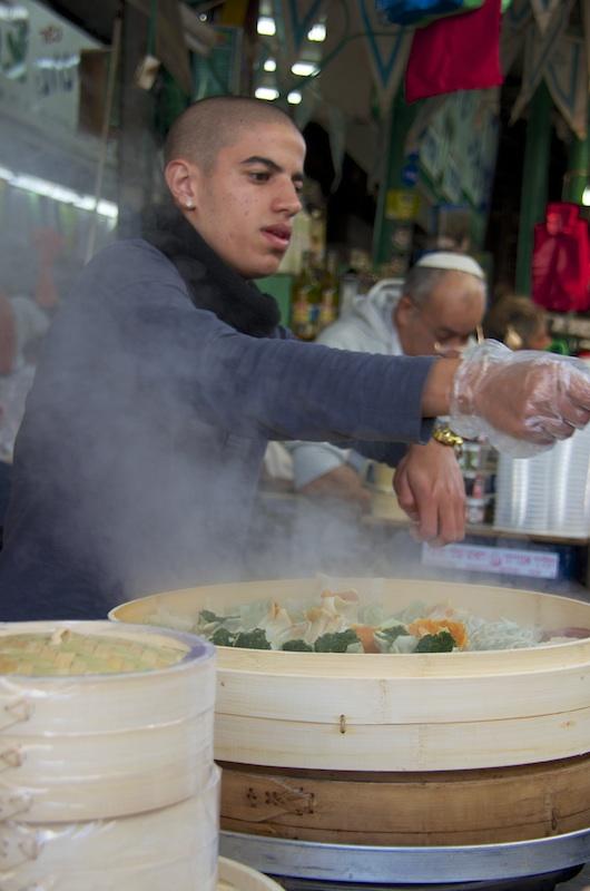 The Tel Aviv Market