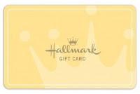 Hallmark gift card