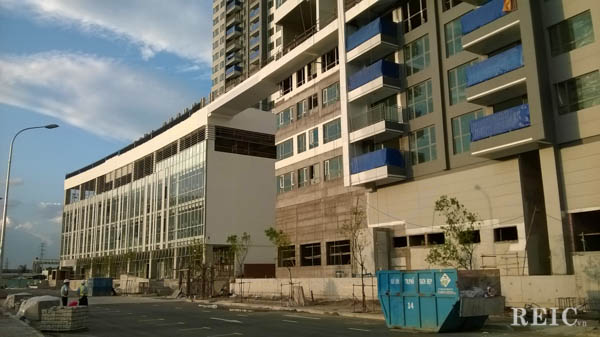 Tiến độ xây dựng Riviera Point - Tháng 08 năm 2014