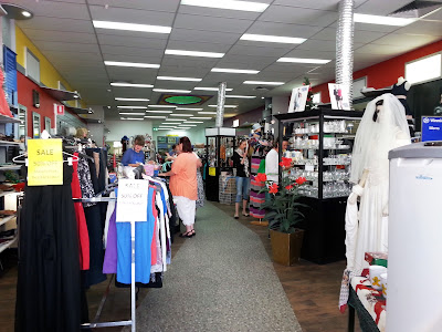 Interior of Vinnies Goulburn.