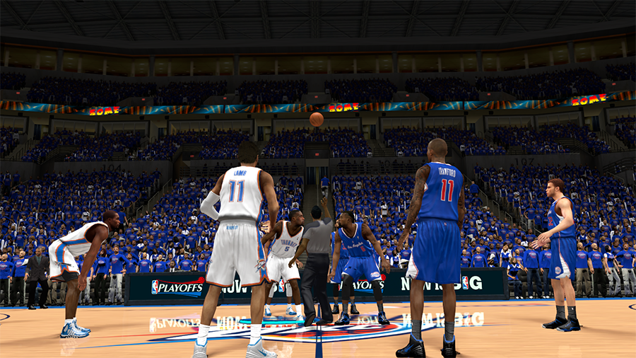 OKC Thunder vs Clippers Playoffs | NBA 2K14
