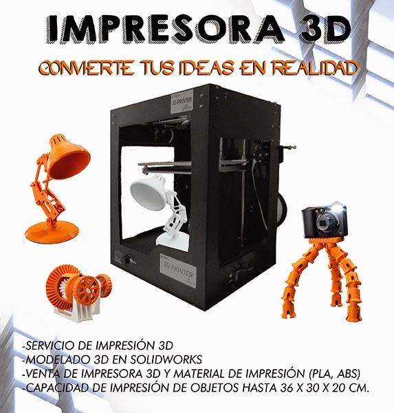 Servicios de Impresión 3D en Office Plaza