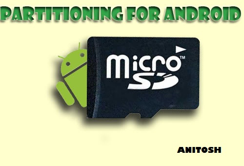 to Partition Memory Card in Android (Galaxy Y/Y Duos) And Use the SD