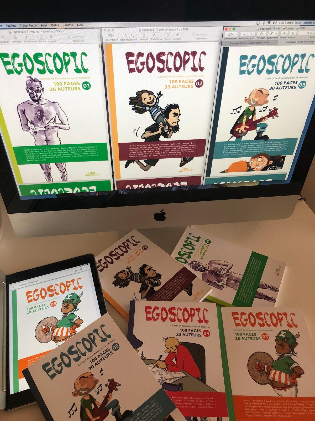 Commandez les 5 premiers EGOSCOPIC en PDF pour 10 €