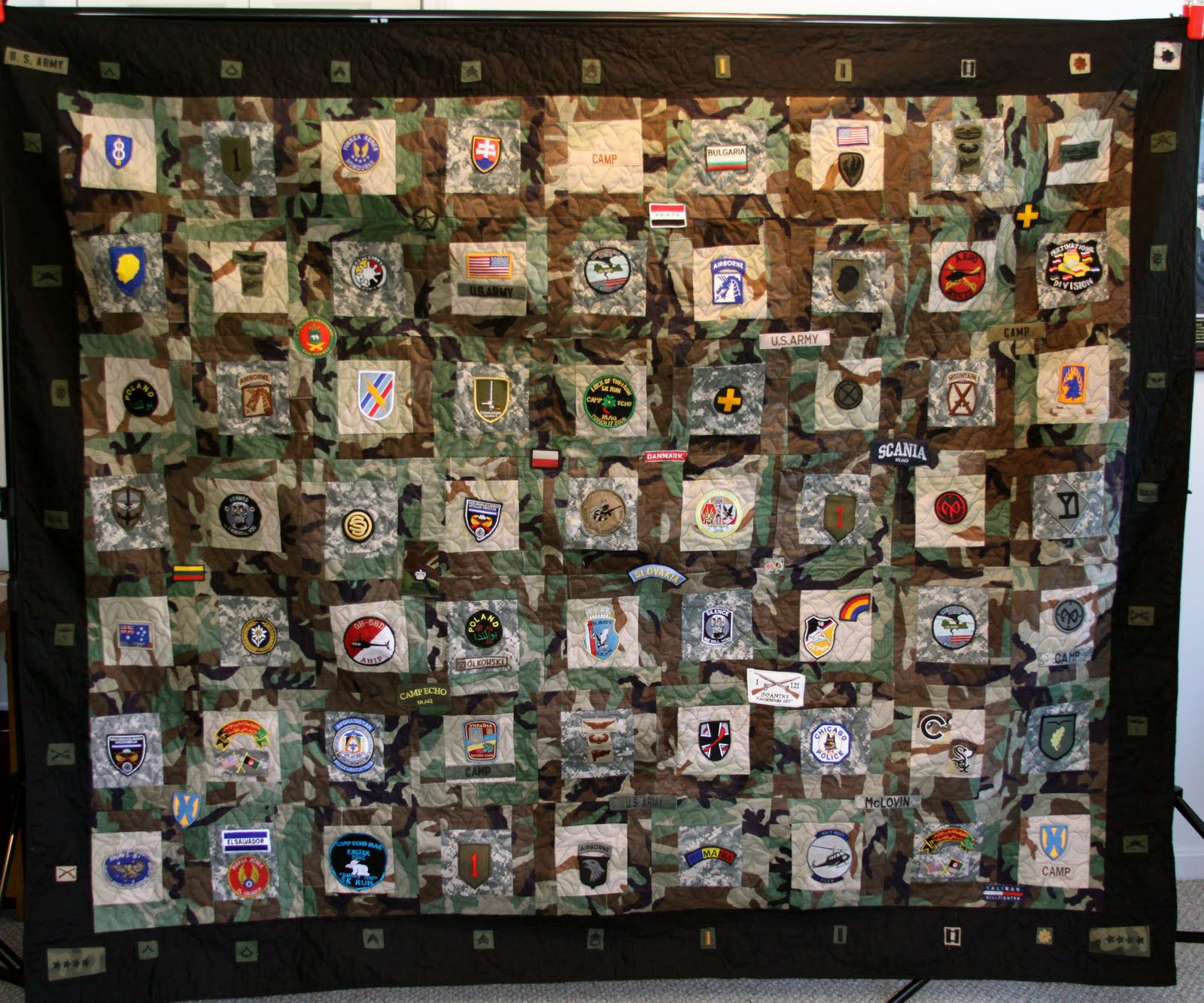 Mamaka Mills Recycled And Custom Memory Quilts Military