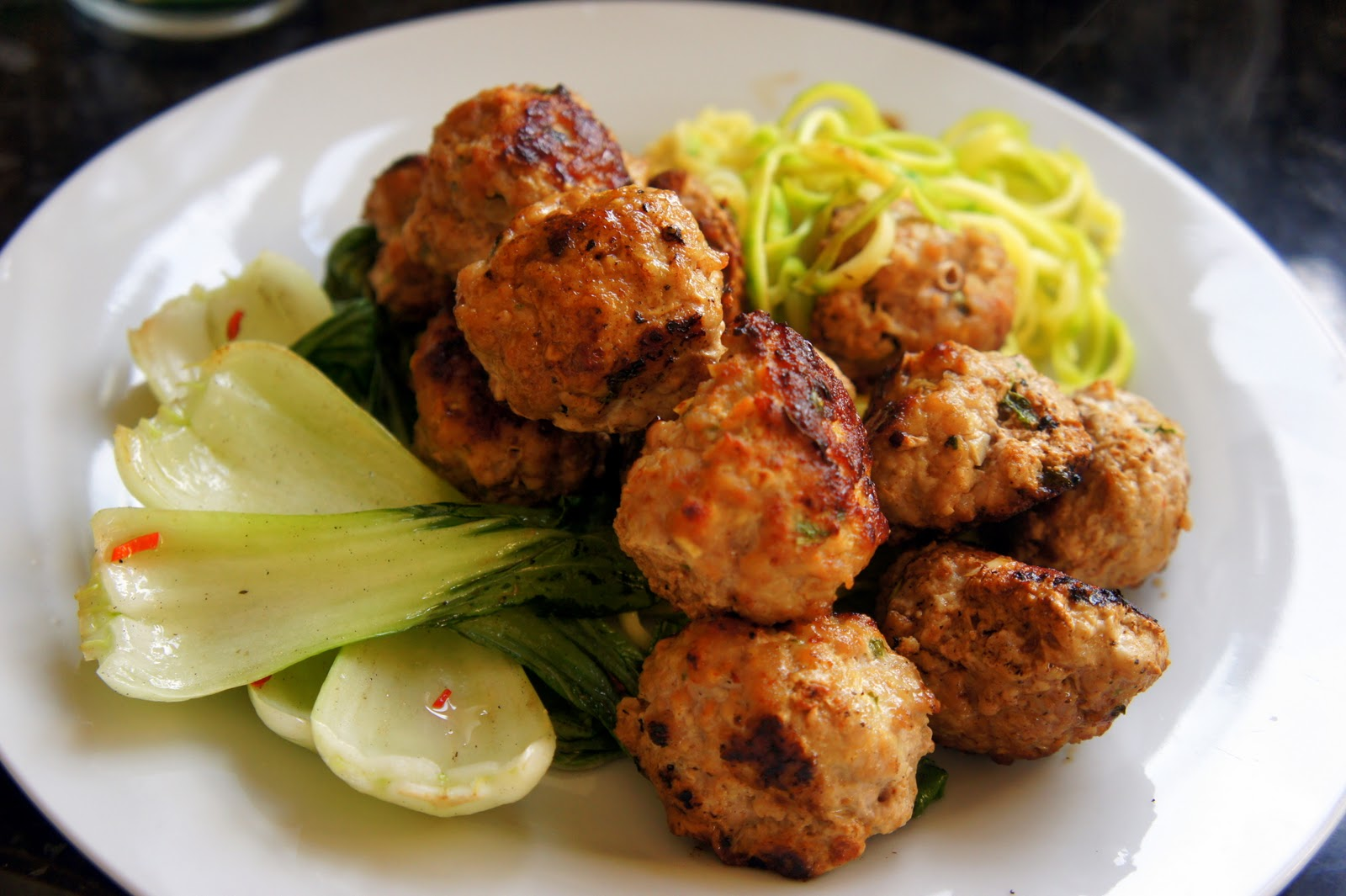 recipe: chinese turkey meatballs [3]