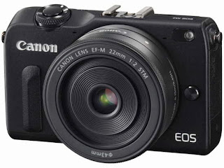 Canon Eos M2 Mirrorless Digital Camera Front