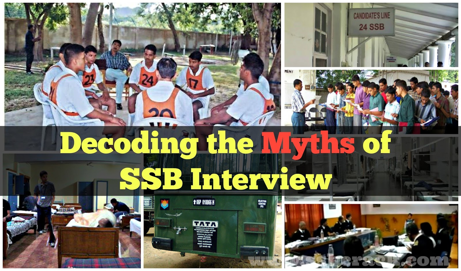 Decoding the Myths of SSB Interview