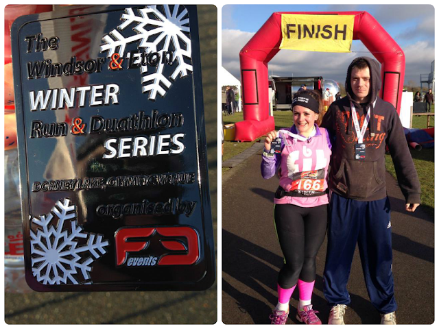 Winter Duathlon, Dorney Lake F3 Events