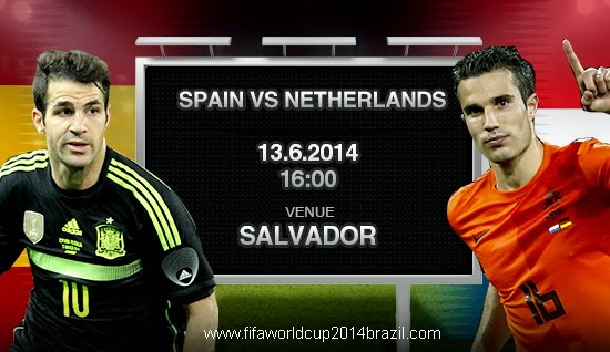 Spain vs Netherlands FIFA World Cup 2014 HD Wallpapers