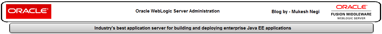 Oracle Weblogic Server Administration