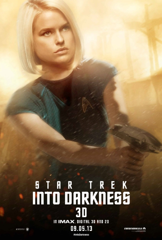 Star Trek Into Darkness - Dr. Carol Marcus - A Constantly Racing Mind