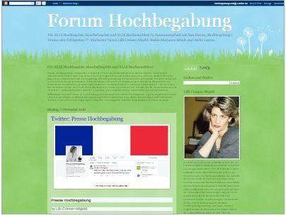 BLOG: Forum Hochbegabung