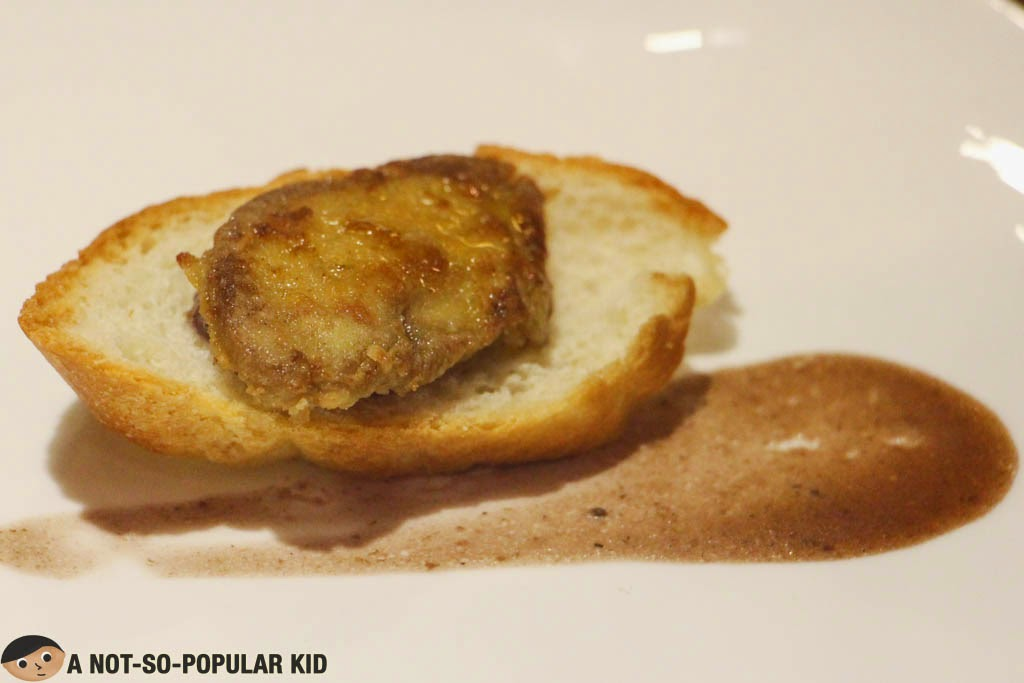 Foie Gras dish in Niu by Vikings