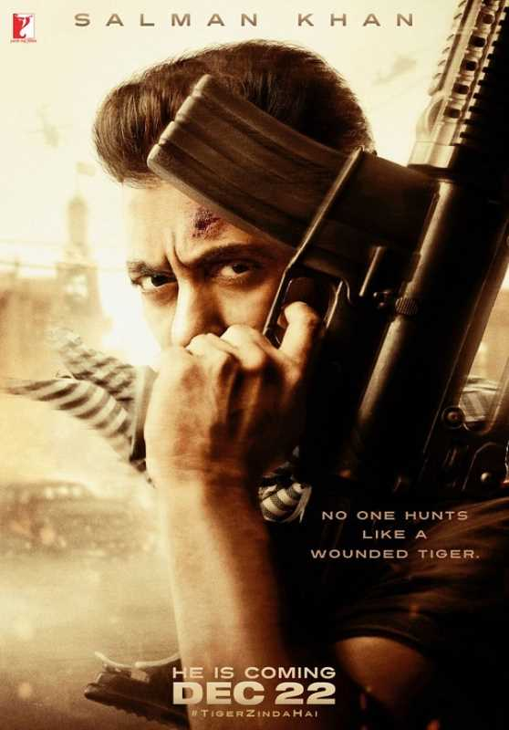 Tiger Zinda Hai 2017 720p Esub BluRay  Hindi GOPISAHI