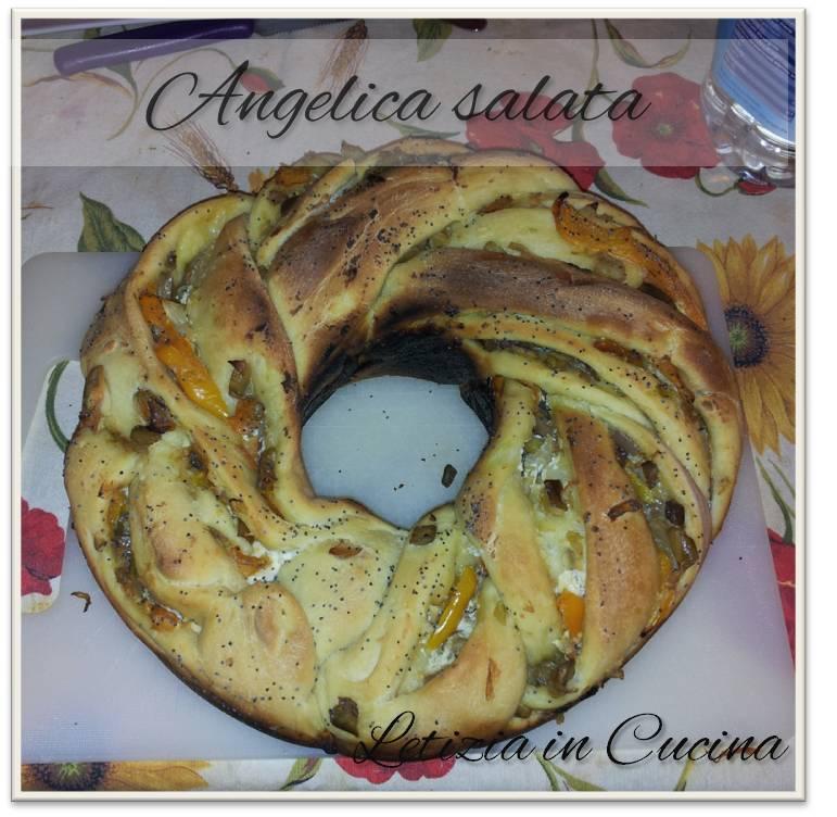 Letizia in Cucina: Angelica salata con verdure dell\'orto e semi di ...