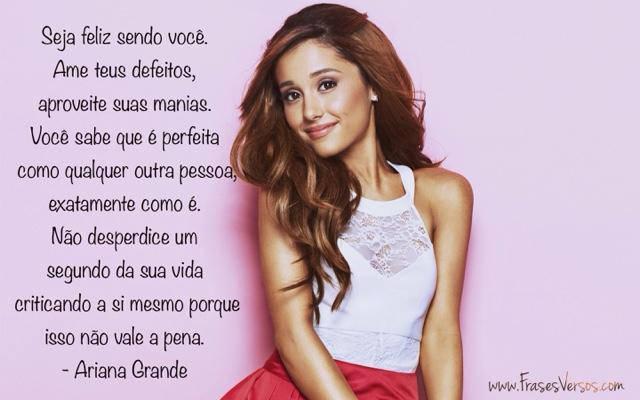 Casal Desconhecido Frases E Trechos De Músicas De Ariana Grande