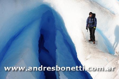 Cueva de Hielo - Ice Cavern - Minitrekking - Glaciar Perito Moreno - Perito Moreno Glacier - Patagonia - Andrés Bonetti