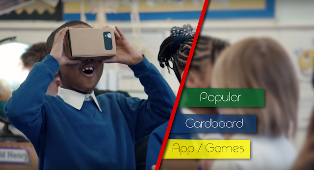 Top 5 Google cardboard free app games list 2016
