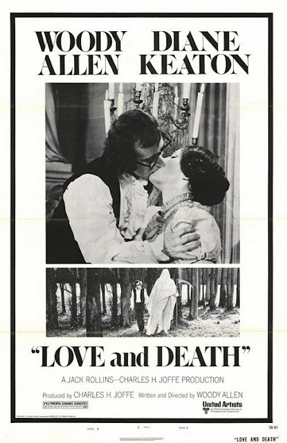 Woody Allen's Love and Death poster
