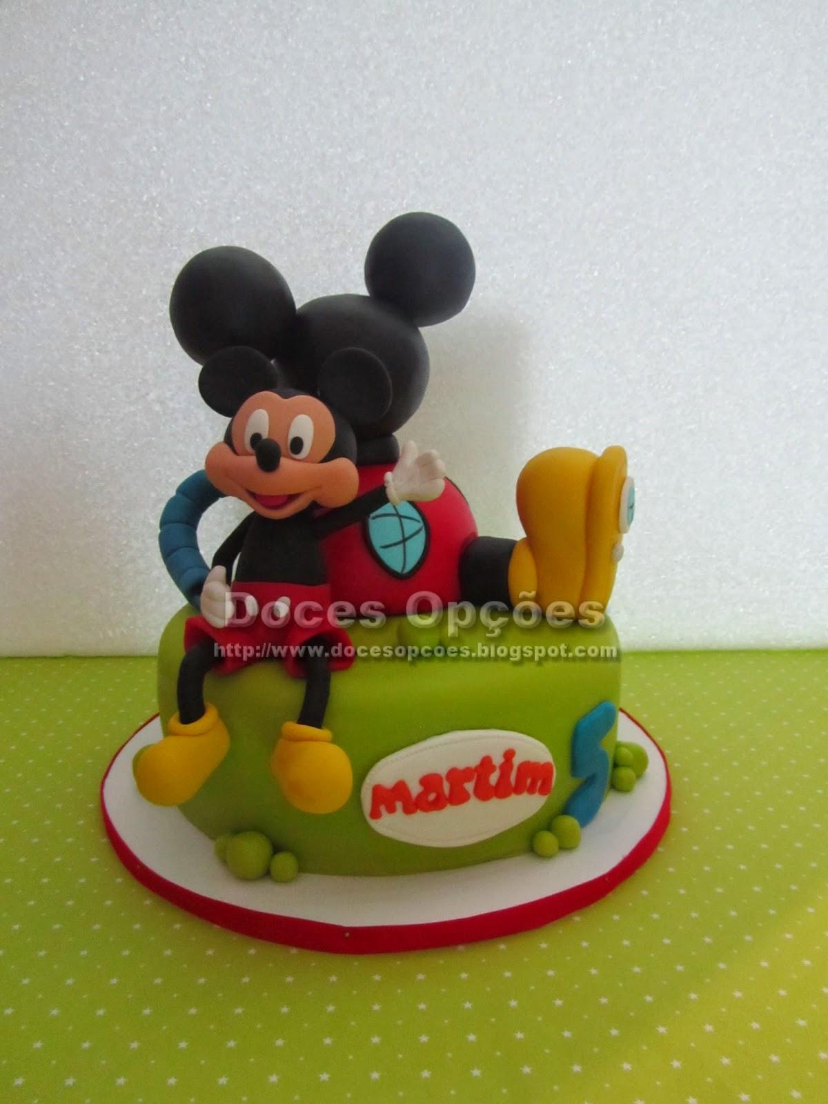 Bolo aniversário Casa do Mickey Mouse