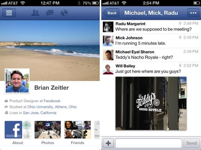 Facebook 5.0 downoad